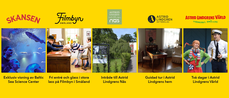 Auktionsvinster, Astrid Lindgrens värld på Skansen 2019